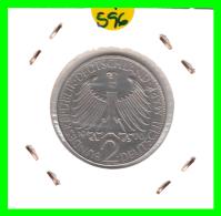 GERMANY  MONEDA DE 2 DM.  AÑO 1970-J - [ 7] 1949-… : RFA - Rep. Fed. Alemana