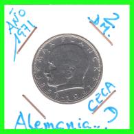 GERMANY  MONEDA DE 2 DM.  AÑO 1971-D - [ 7] 1949-… : RFA - Rep. Fed. Alemana