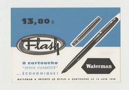 BUVARD STYLO A CARTOUCHE WATERMAN - Carte Assorbenti