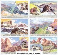 Chromo Liebig Sang. 1763 ITA Rifugi Alpini ANNO 1961 - Liebig