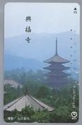 JP.- Japan, Telefoonkaart. Telecarte Japon. - NTT -. - Landschappen