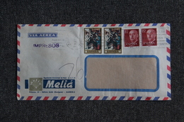 Lettre De VALENCIA Vers FRANCE - 1931-Hoy: 2ª República - ... Juan Carlos I