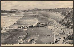 Fistral Bay, Newquay, Cornwall, C.1950 - Photochrom Postcard - Newquay