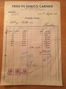 1-7-1953-LUGANO-EREDI FU ENRICO CARLANI-POLLAME-UOVA-SELVAGGINA - Schweiz