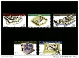 MALTA - 2003  FORTRESSES  SET MINT NH - Malta