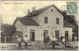 Carte Postale Ancienne De BARONCOURT-la Gare - France