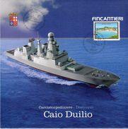 Riva Trigoso (GE) 2007 - Fincantieri - Cerimonia Di Varo Cacciatorpediniere Caio Duilio - - Guerra