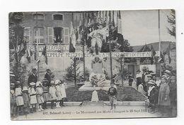 CPA 42 BELMONT Le Monument Aux Morts Inauguré Le 18 Sept 1921 - Belmont De La Loire