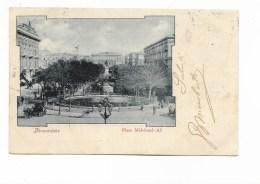 ALEXANDRIE PLACE MEHEMED-ALI  VIAGGIATA FP - Alexandria
