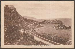 Isola E Capo S Andrea, Taormina, Messina, Sicilia, C.1920s - Galifi Crupi Cartolina - Messina