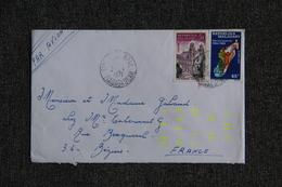 Lettre De MADAGASCAR Vers FRANCE. - Madagascar (1960-...)