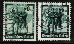 GERMANY   Scott # 484-5 VF USED - Germany