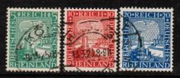 GERMANY   Scott # 347-9 VF USED - Germany