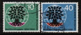 GERMANY   Scott # 807-8 VF USED - [7] Federal Republic