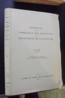 Memoires De La Commission Des Antiquités Du Departement De Cote D'or 1974-75 - Bourgogne