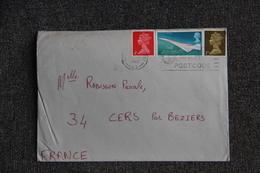 Lettre De GRANDE BRETAGNE ( SURREY) Vers FRANCE - 1952-.... (Elizabeth II)