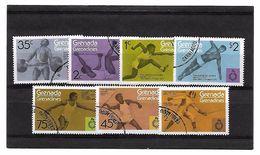 EDY 763 - GRENADA GRENADINES , Pan American Games I Sette Valori Usati - Grenada (1974-...)
