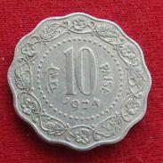 India 10 Paise 1974 (B) KM# 27.1 Inde Indie - Inde
