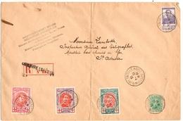 Belgique Belle Lettre Recommandée De 1915 Gouvernement Belge Au Havre. B/TB. A Saisir! - Belgium
