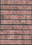 _5Ez-724:  5 Cent Bontkraag ... Restje Van  81 Zegels... Verder Uit Te Zoeken.. - Period 1891-1948 (Wilhelmina)