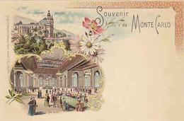 Souvenir De Monte Carlo - Litho        (A-57-100303) - Casino