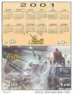 Qatar Hala GSM Cards, New Millaneum Starts, Sports & Calendar 2001. - Qatar