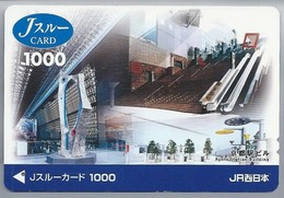 JP.- Japan, Telefoonkaart. Telecarte Japon. KYOTO STATION BUILDING - Treinen