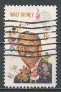 United States 1968. Scott #1355 (U) Walt Disney - Oblitérés