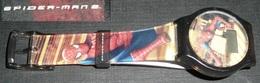 Montre Quartz Super-héros Marvel Comics Bracelet Plastique Spiderman Spider-Man 2 - Advertisement Watches