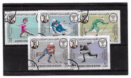 EDY 783 - SEIYUN 1968 ,  Cinque Valori Usati . GRENOBLE - Inverno1968: Grenoble