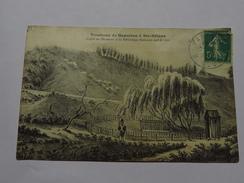 C.P.A. Tombeau De NAPOLEON à Ste-Hélène, D'après Un Document De La Bibliothèque Nationale Daté De 1826, Timbre 1910 - Saint Helena Island
