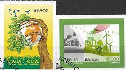 2016 Italien Mi.3908-9 Used Europa: Umweltbewusst Leben - 2011-...: Usati