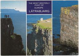 Ísland - Iceland - Látrabjarg - Most Westerly Point Of Europe - IJsland