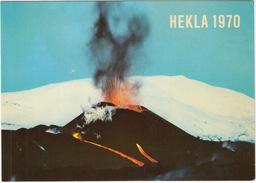 Ísland - Iceland - Hekla 1970 - Eruption From The Öldugígar Crater - IJsland