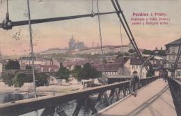 Pozdrav Z Prahy - Hradcany A Mala Strana * 1906 - Czech Republic