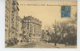 BOULOGNE SUR MER - Boulevard Sainte Beuve Et L' HOTEL PRINCESS - Boulogne Sur Mer
