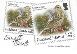 FALKLAND ISLANDS, 2017, Booklet 14, Small Birds - Falkland Islands