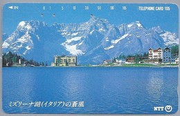 JP.- Japan, Telefoonkaart. Telecarte Japon. NTT. TELEPHONE CARD 105 - Landschappen