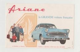 BUVARD  ARIANE LA GRANDE VOITURE FRANCAISE - Automotive
