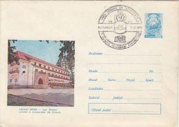 TOURISM, BRAN INN, COVER STATIONERY, ENTIER POSTAL, 1978, ROMANIA - Holidays & Tourism