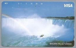 JP.- Japan, Telefoonkaart. Telecarte Japon. VISA. NIAGARA FALLS / CANADA. - Landschappen