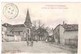 LIVERDUN  La Place De L Eglise Et Le Tilleul  Seculaire   ***   A   SAISIR  ***** - Liverdun