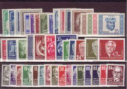 DDR, Kpl. Jahrgang 1952** (T 12361) - DDR