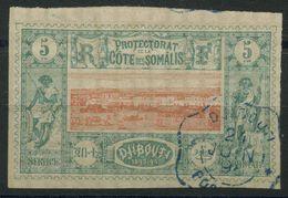 Côte Des Somalis (1894) N 9 (o) - Lettres & Documents