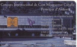 TARJETA TELEFONICA DE ANDORRA. (032) - Andorra