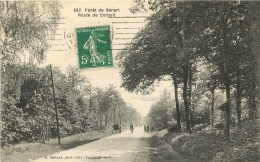 FORET DE SENART ROUTE DE CORBEIL  EDITION MULARD - Francia