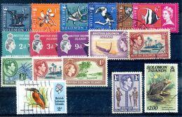 SALOMON ISLANDS LOT DE 17 TIMBRES COTE 6E - Solomon Islands (1978-...)