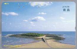 JP.- Japan, Telefoonkaart. Telecarte Japon. TELEFHONE CARD 50 - Landschappen