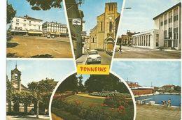 TONNEINS-multivues-place Du Chateau,eglise Notre Dame,la Poste,le Temple,les Jardins,la Piscine AMI 6 CITROEN - Tonneins