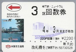 JP.- Japan, Telefoonkaart. Telecarte Japon. OSAKA - AKASO. - Telefoonkaarten